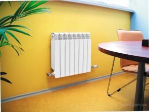 Алюминиевый радиатор в системе отопления