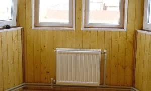 Водяное отопление в деревянном доме