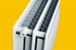 Двухрядный панельный радиатор