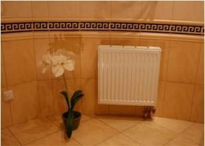 Радиатор в ванной комнате