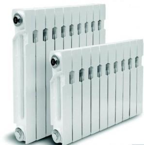 Радиатор изготовлен из алюминия