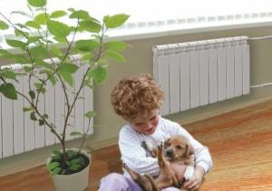 В теплом доме детям комфортно