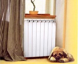 Радиатор установлен