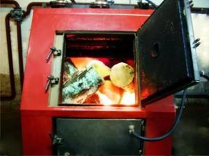 Оборудование отопления в работе