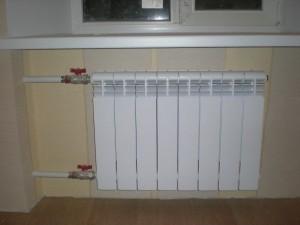 Отопление радиаторное