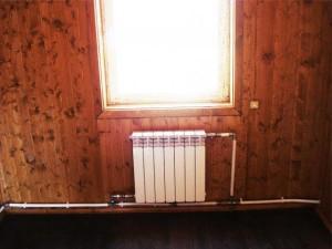 Установленное однотрубное отопление