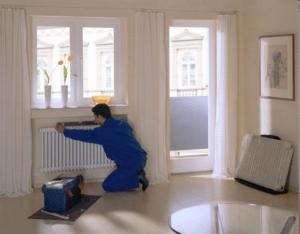 Отопление в гостиной
