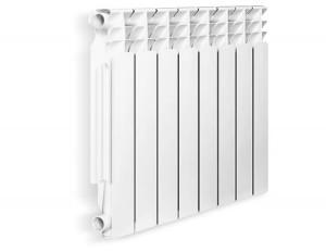 Белый радиатор