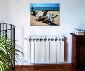 Радиатор global в комнате