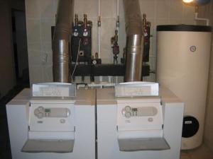 Двухконтурные газовые напольные котлы