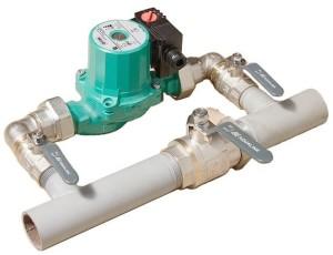 Система отопления с байпасом