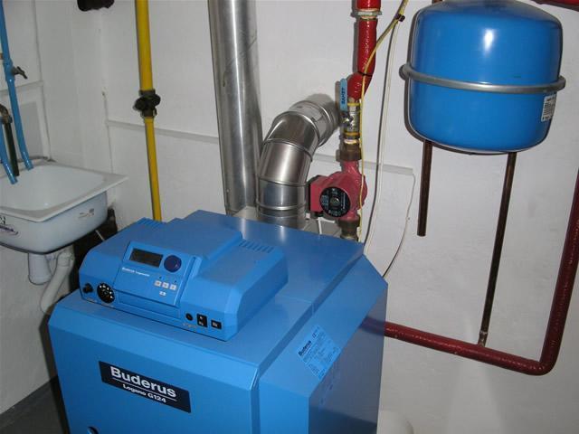 Принципиальная схема газовой
