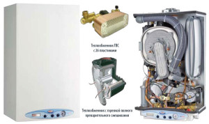 Устройство двухконтурного газового котла