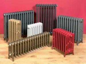 Радиаторы с разным числом секций