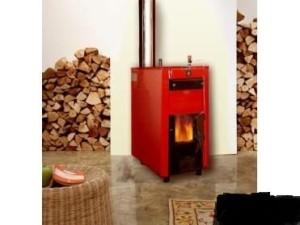 Современная дровяная система отопления