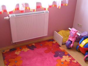 Радиатор в детской комнате