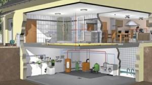 В виде источника тепловой энергии в газовых котельных применяют котел