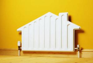 Радиатор в форме домика