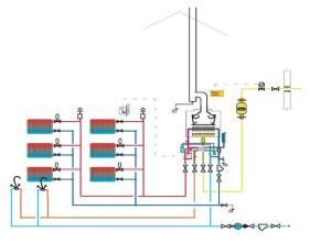 Двухтрубная система отопления дома