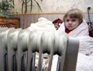 Дети у радиатора