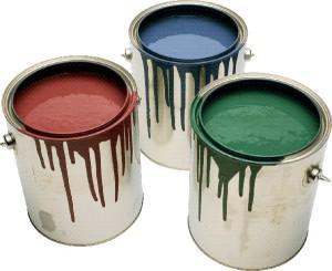 Краска в банках без запаха