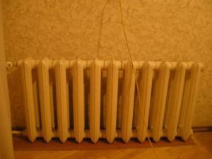 Желтый радиатор