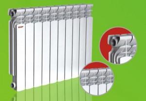 Стандартный радиатор отопления