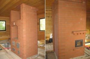 Конструкция до потолка