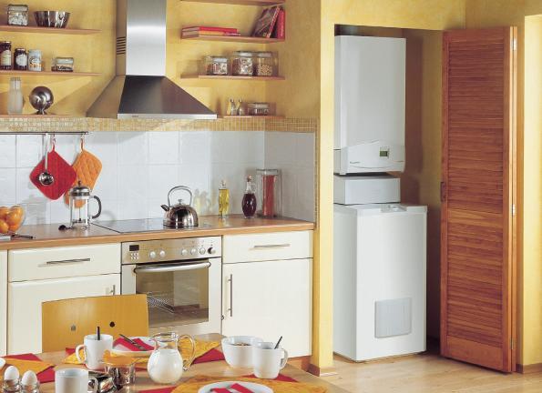 Кухни как спрятать котел