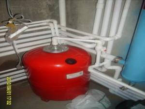 Расширительные баки для отопления с диафрагмой