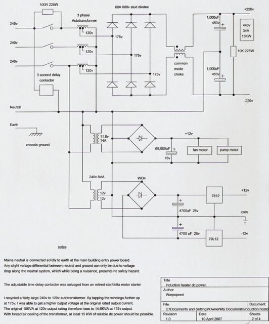Схема индукционного