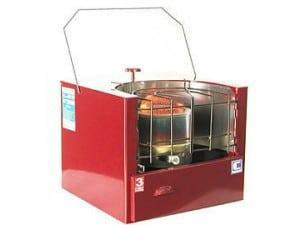 Обогреватель - печь с максимальной мощностью 2500 Вт.