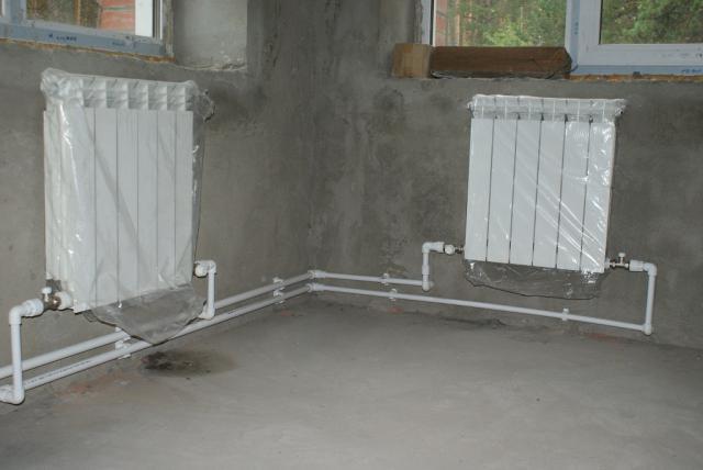 Установка радиаторов отопления своими руками в частном 159