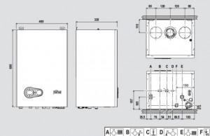 Схема конденсационного оборудования