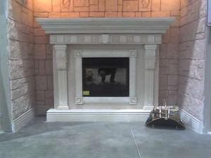 Портал для камина из гипсокартона своими руками: как соорудить такую конструкцию?