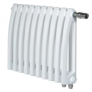 Белый стильный радиатор