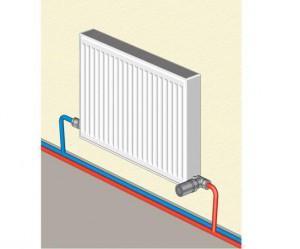 Способ установки радиатора