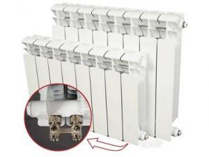 Биметаллические радиаторы с нижним подключением - преимущества и недостатки схемы