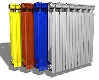 Разноцветные модели