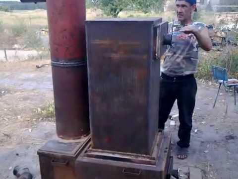 Испытания котла дровяного