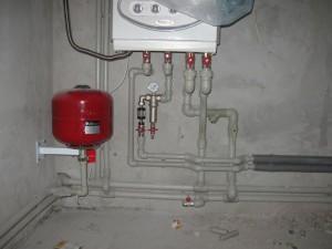 Разводка систем отопления