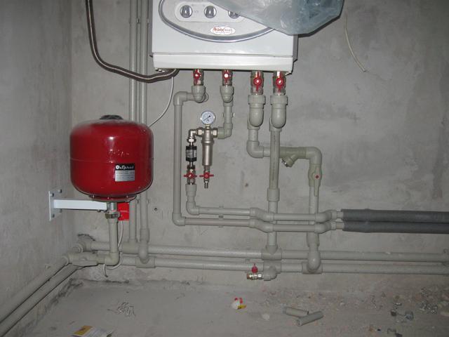 Отопление из полипропилена в частном доме своими