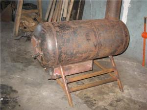 Печка из баллона
