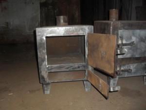 Квадратная и металлическая