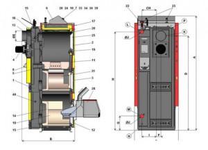 Конструкция отопительного оборудования