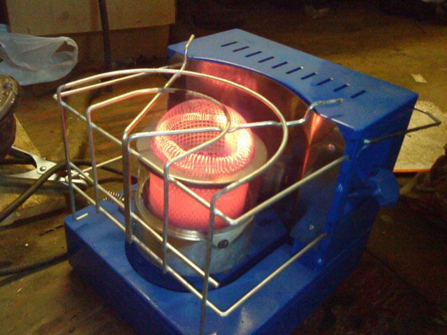 Электро печка своими руками 2