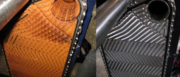 Химическая чистка теплообменника котла Паяный теплообменник Alfa Laval CB30-18H Оренбург