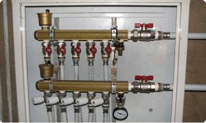 Коллекторное подключение радиаторов