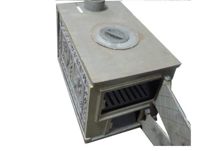 Печка для дачи на дровах железная своими руками 460
