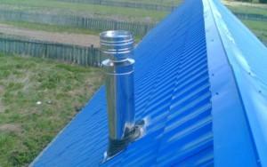 Круглая и стальная труба